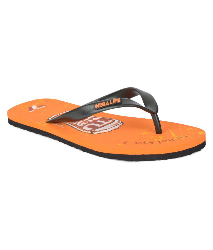 Wega Life Black Slippers