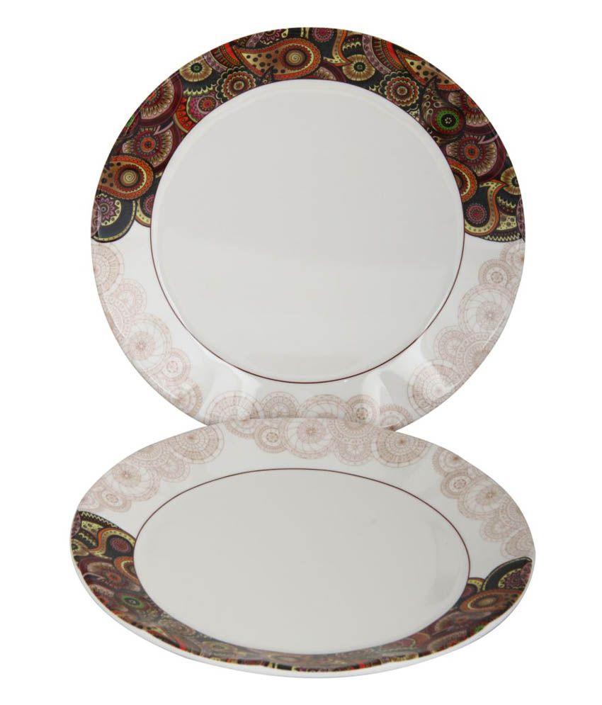 ... Servewell Dora Tribal Paisley 31 Pcs Dinner Set ...  sc 1 st  Snapdeal & Servewell Dora Tribal Paisley 31 Pcs Dinner Set: Buy Online at Best ...
