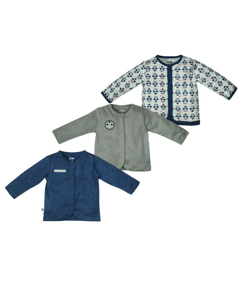 FS MiniKlub Pack Of 3 Front Open Vests
