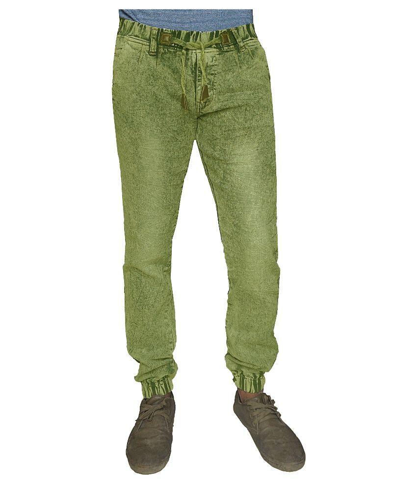 Oiin Green Slim Jogger