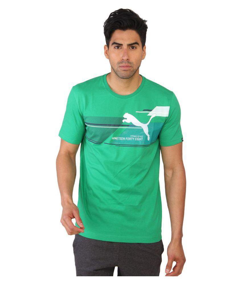 Puma Green T-Shirt
