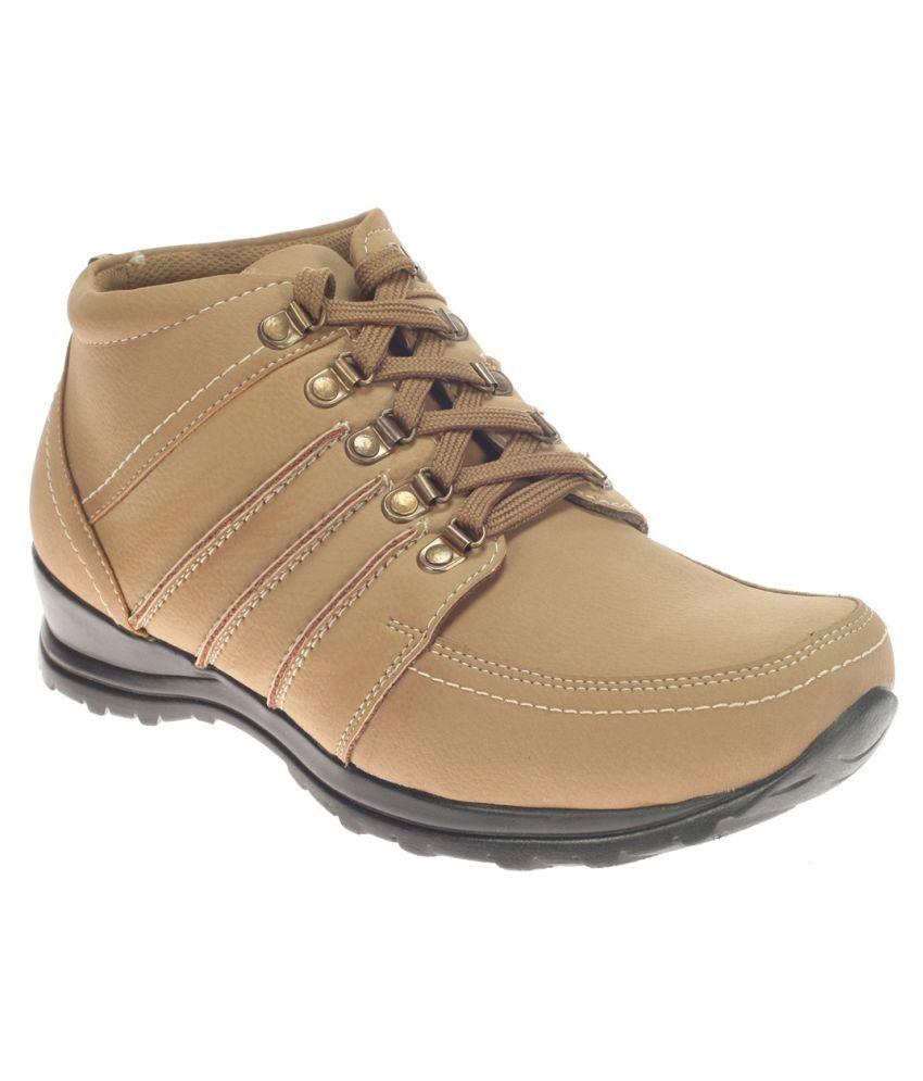Khadim's Khaki Casual Boot