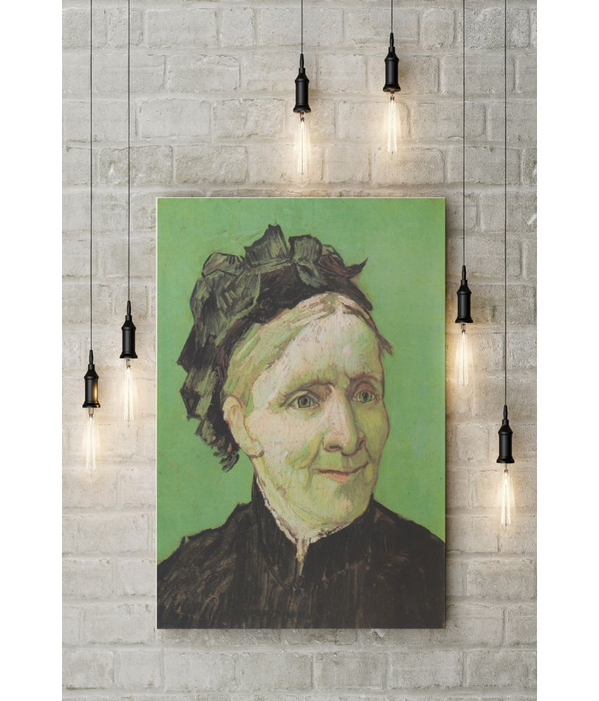 Canvs Portrait of the Artist's Mother (Van Gogh) Wood Art Prints With Frame Single Piece