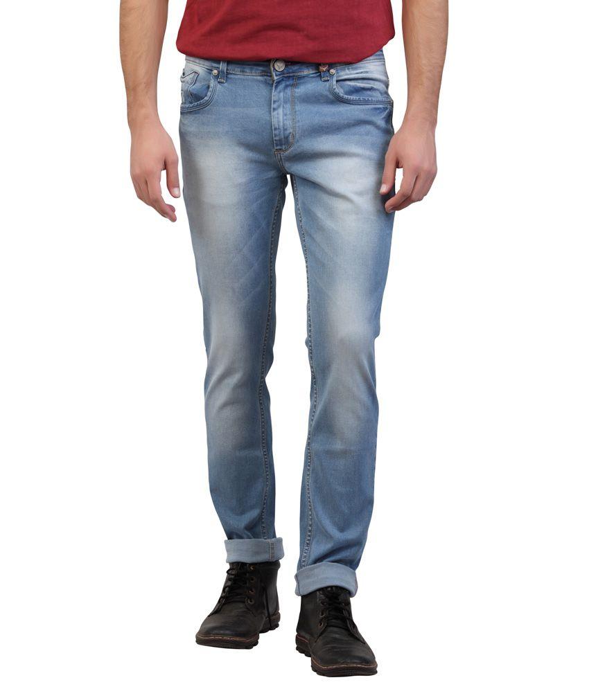 Buffalo By Fbb Blue Skinny Fit Jeans