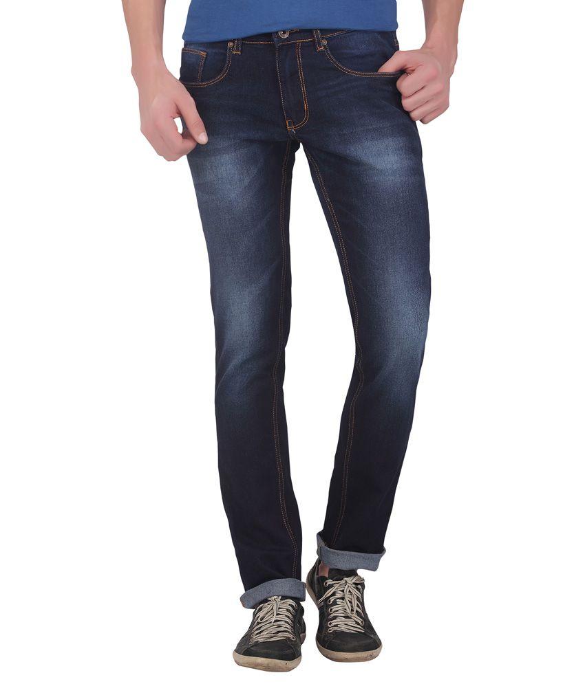 DJ&C By FBB Blue Slim Fit Jeans