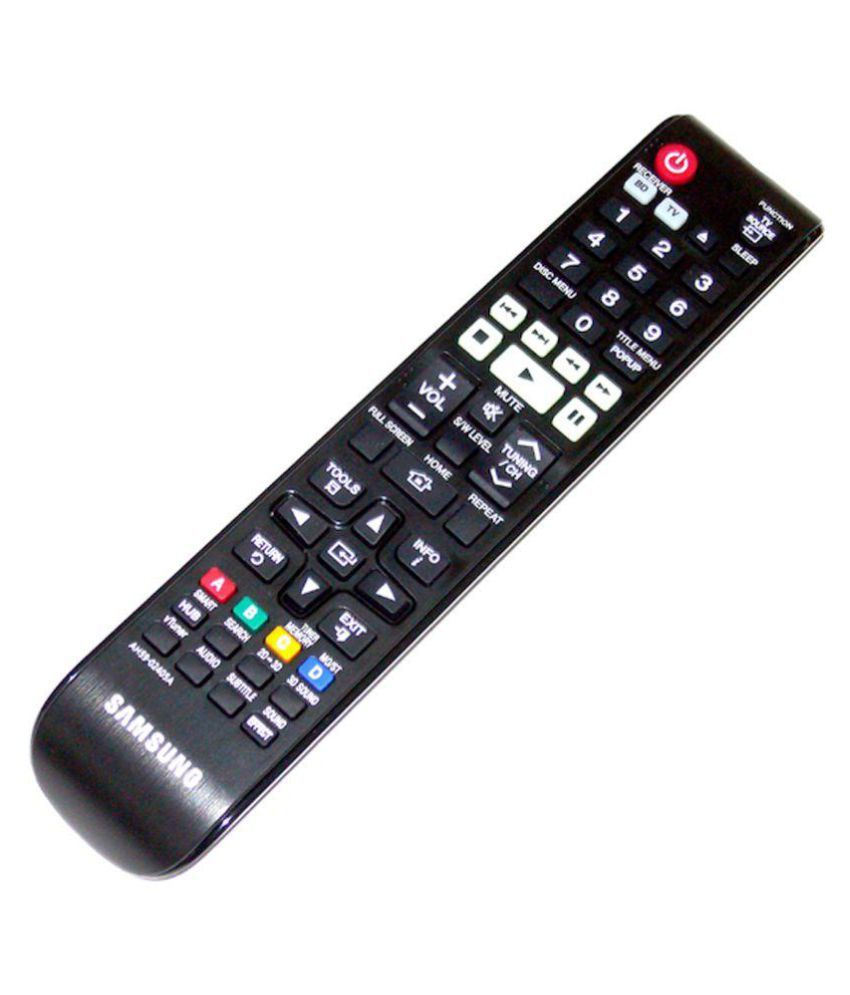 Samsung Ah59 02405a Universal Remote Compatible With Blu Ray Home Theatre