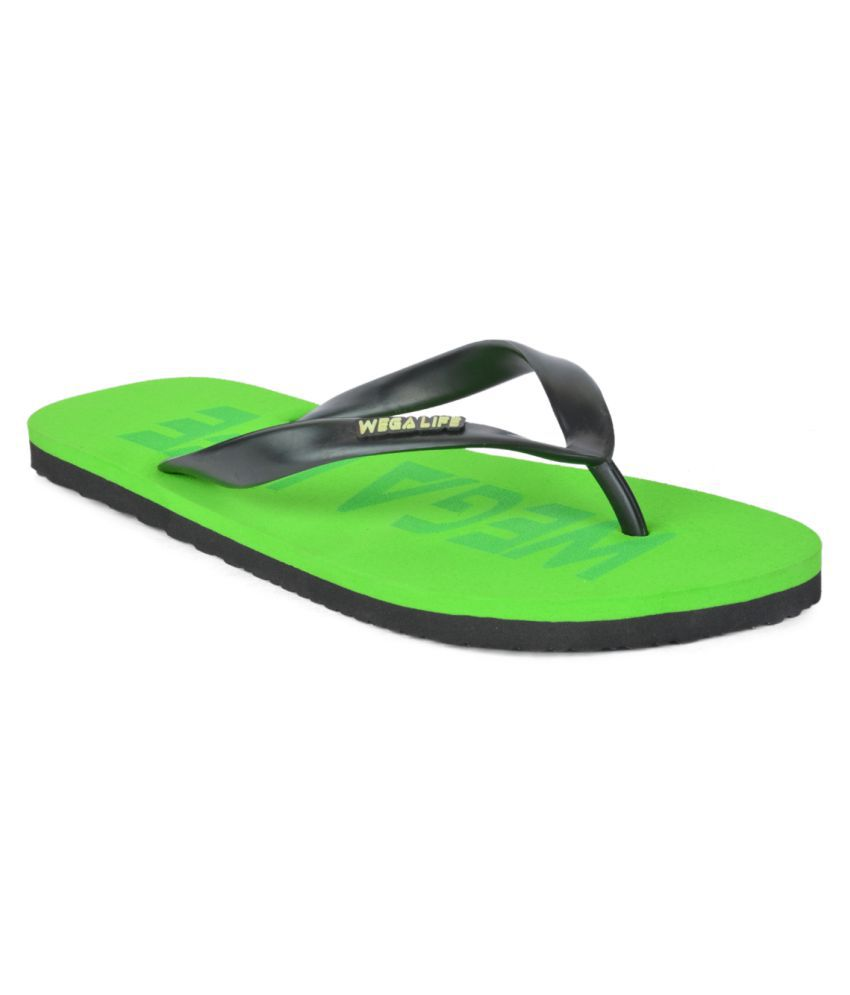 Wega Life Green Slippers