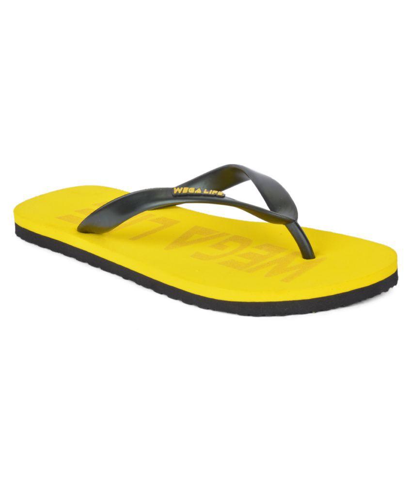 Wega Life Yellow Slippers