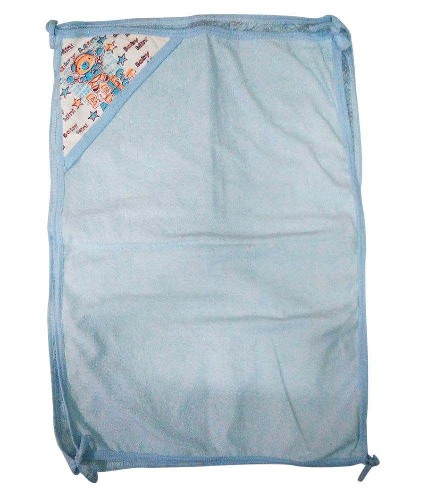 Gold Dust Blue Cotton Baby Wrap Baby Blanket/Baby Swaddle/Baby Sleeping Bag