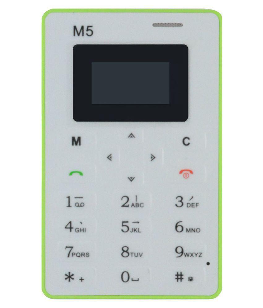 Nanotel M5 4GB and Below Green