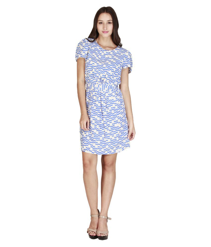 Add To Style Multi Color Polyester Dresses