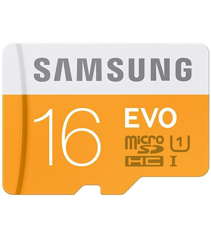 Samsung EVO 16GB MicroSDHC Class 10 48 MB/s By Snapdeal @ Rs.325