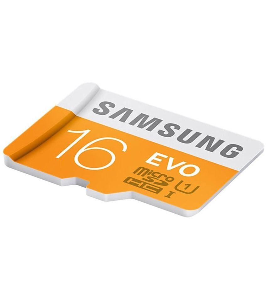 samsung evo 16gb microsdhc class 10 48 mb s
