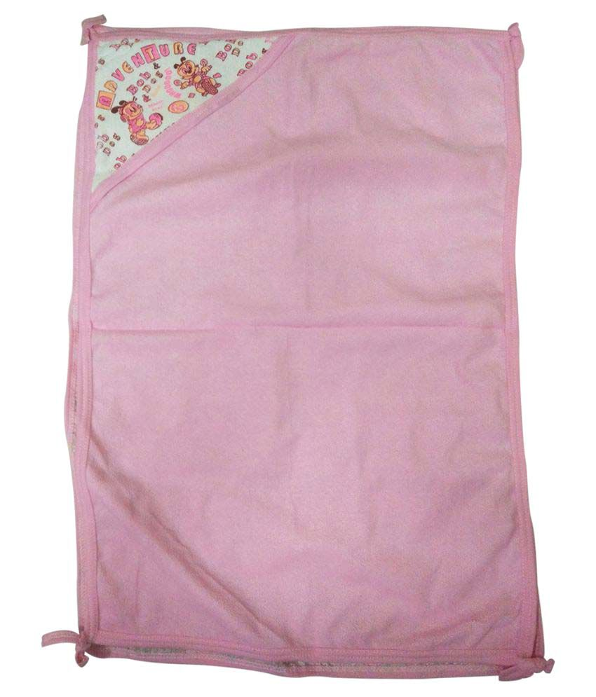 Gold Dust Pink Cotton Baby Wrap