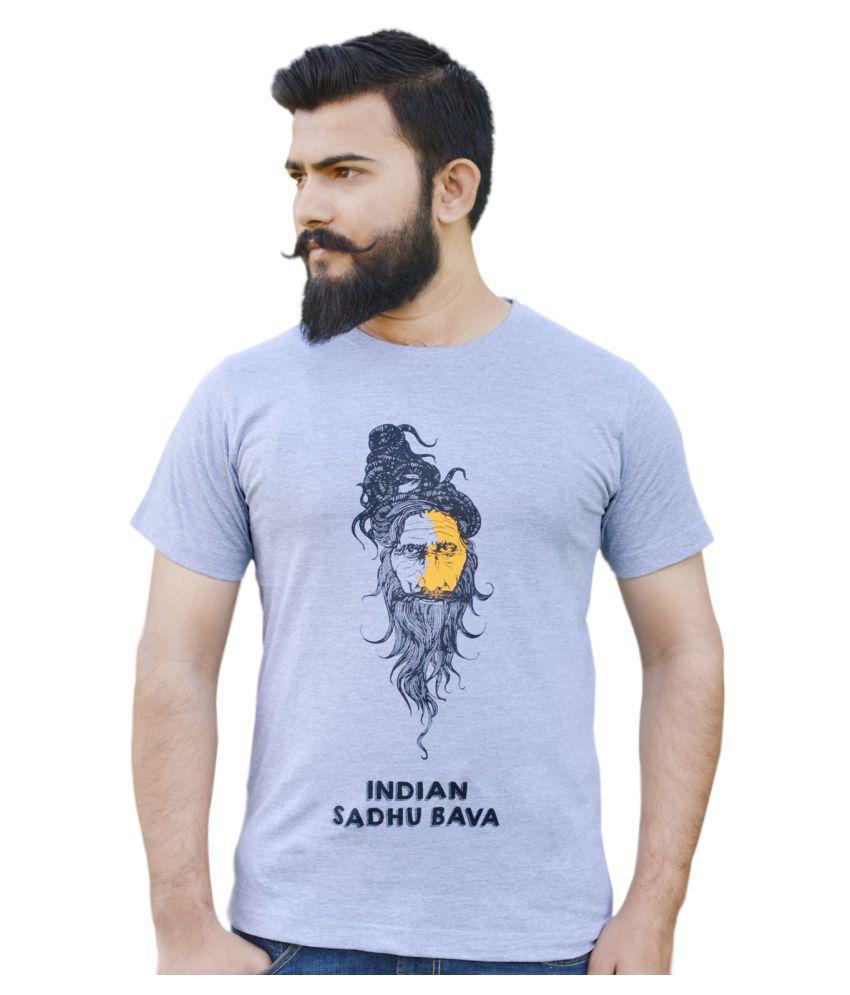 Novus House Grey Round T-Shirt
