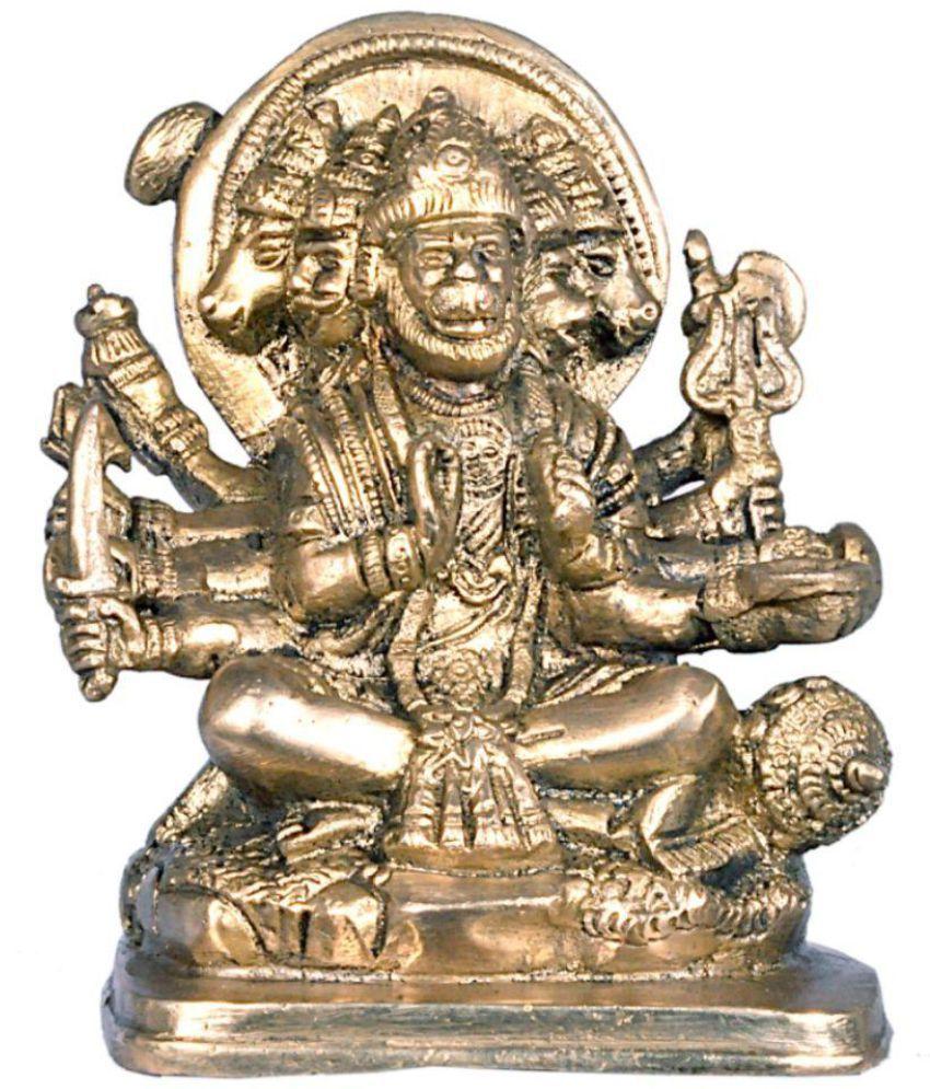 JY Hanuman Brass Idol