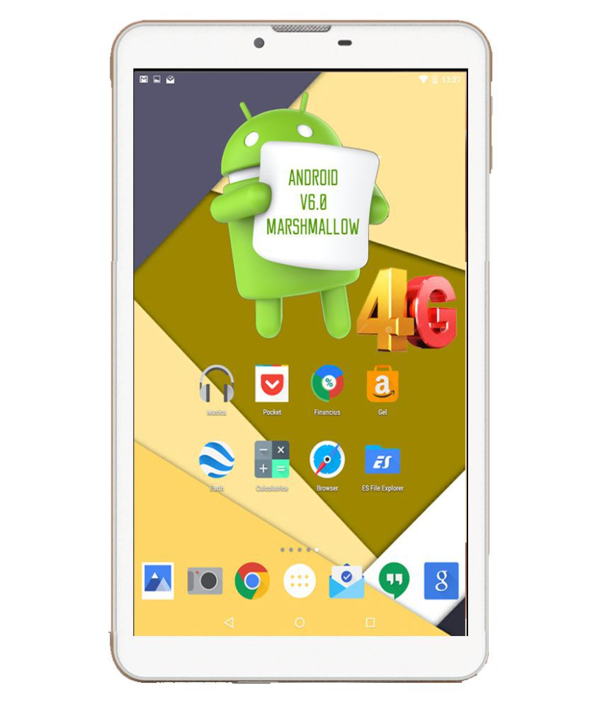 i kall n4 white 4g wifi voice calling tablets online at low rh snapdeal com