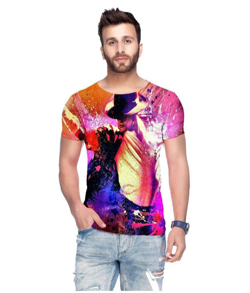 Raves Multi Round T-Shirt