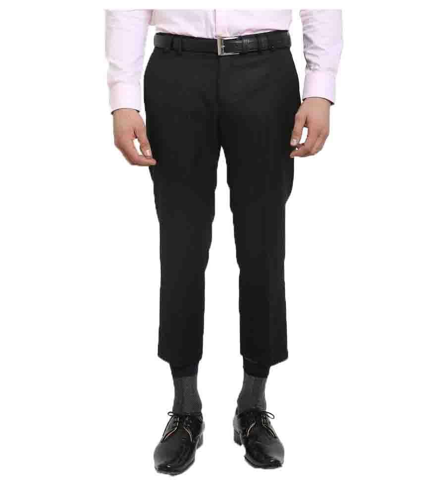 Blackberrys Black Skinny Flat Trouser