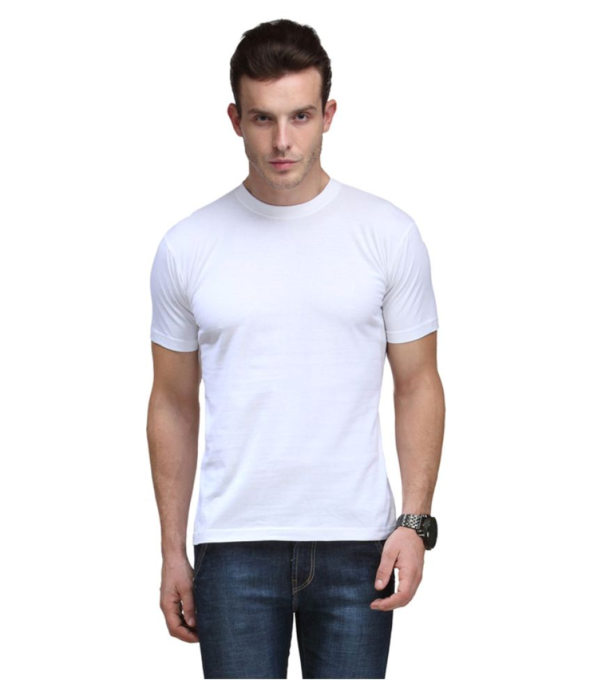 Swami Samarth White Round T-Shirt