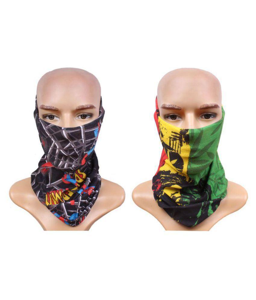 Jstarmart Multicolor Bandana Head Scarf