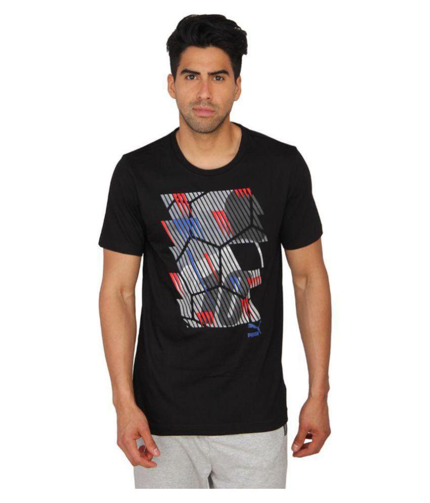 Puma Black T-Shirt