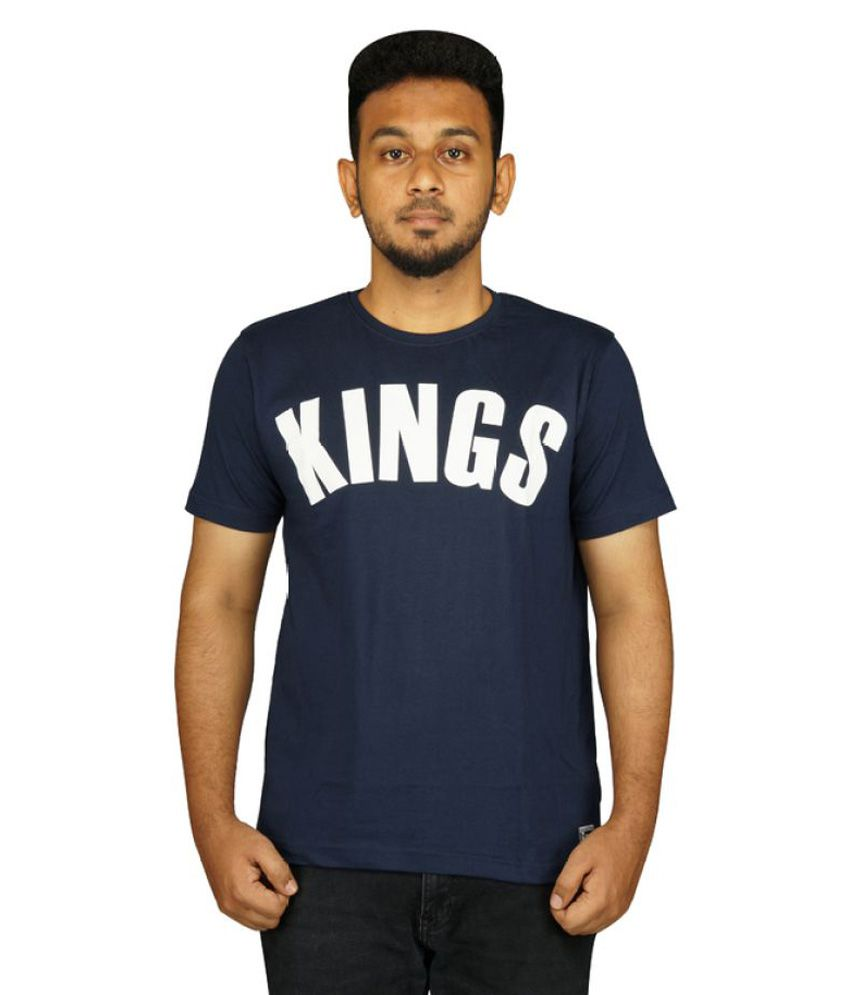Empire Fashion Navy Round T-Shirt