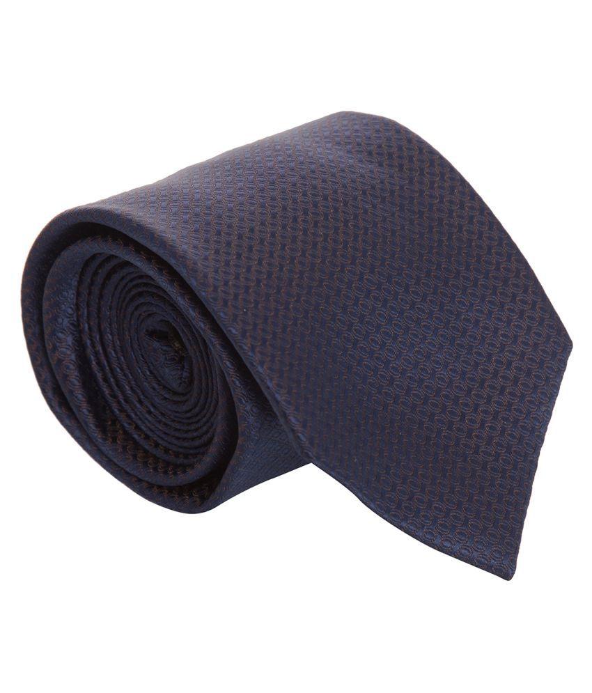 Park Avenue Navy Formal Necktie