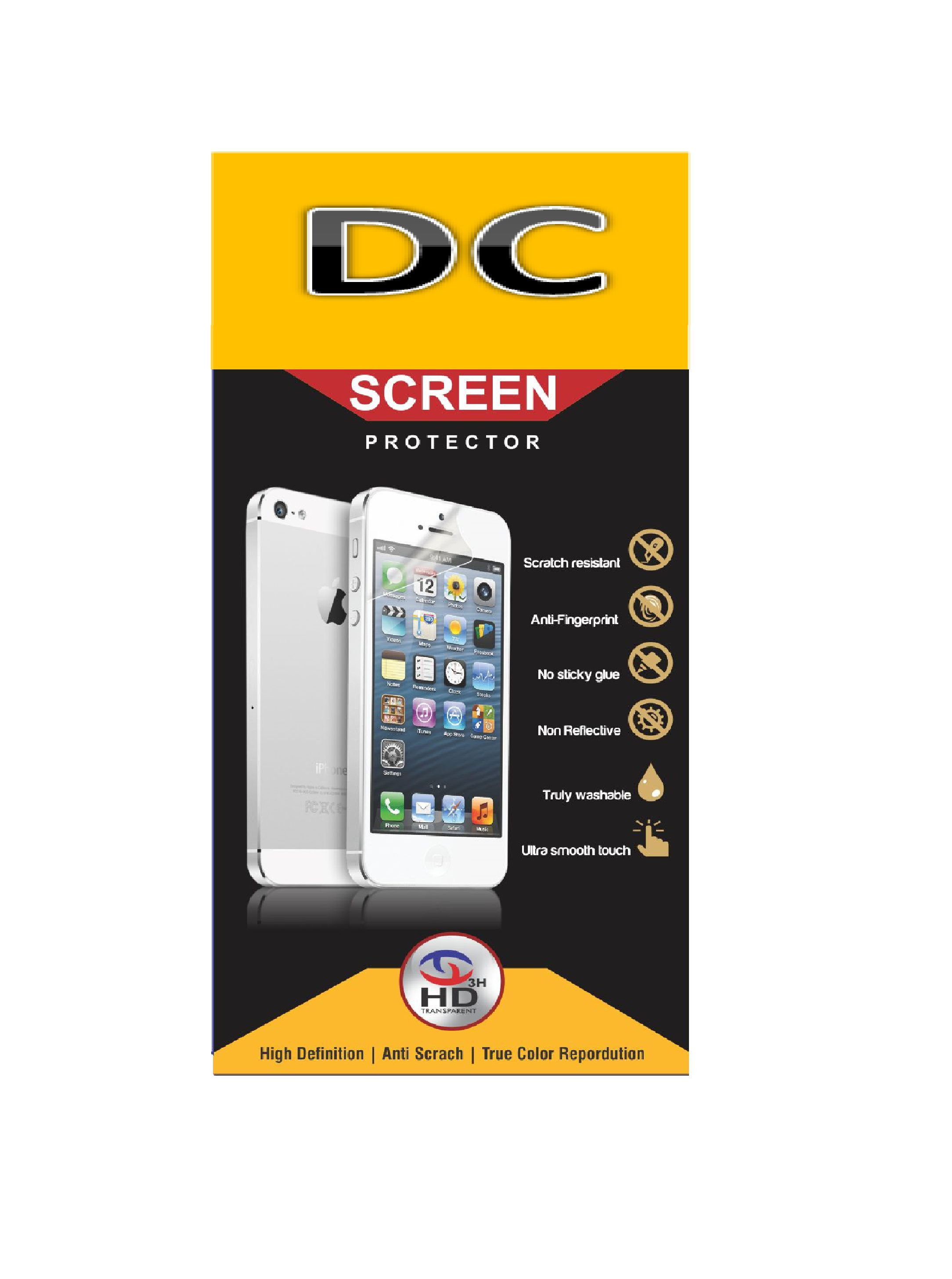 Sony Xperia M Tempered Glass Screen Guard By Kosher Traders