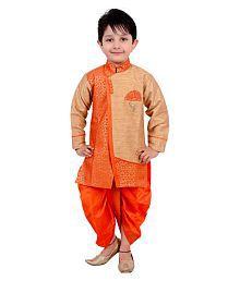 Arshia Fashions Multicolour Dhoti Kurta Set