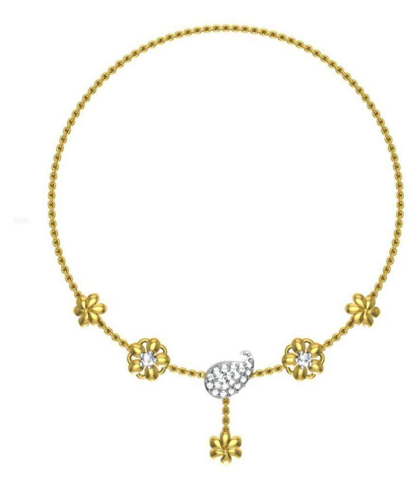 Avsar 14k BIS Hallmarked Gold Necklace