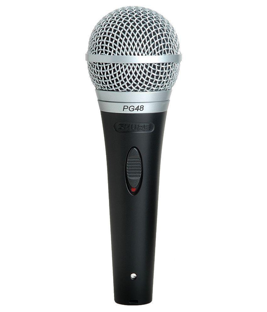 shure pg48 xlr dynamic microphone buy shure pg48 xlr dynamic microphone online at best price in. Black Bedroom Furniture Sets. Home Design Ideas