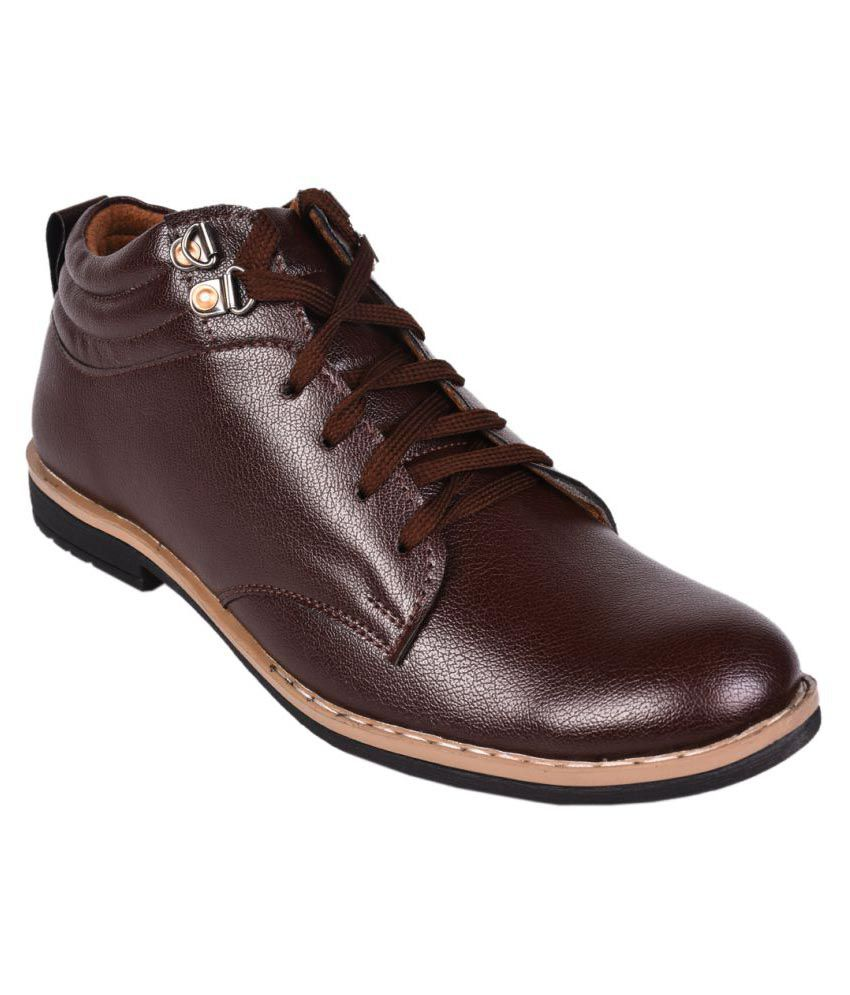 Affican Brown Party Boot