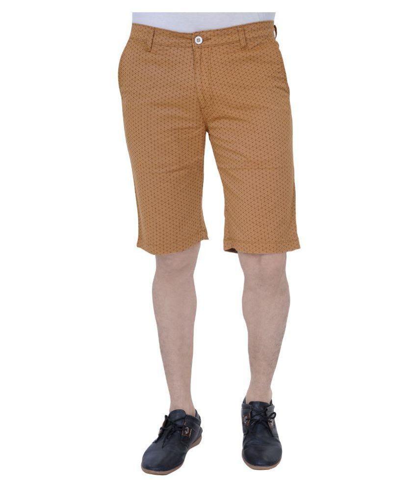 U Can Brown Shorts