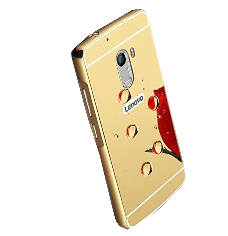Mirror Back Cover For Lenovo K4 Note + Zipper earphone free by Style Crome.