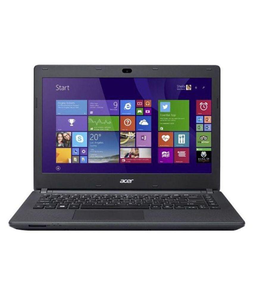 Acer ES1-131 (UN.MYKSI.051) Netbook (Intel Celeron- 2GB RAM- 500GB HDD- 29.46cm (11.6)- Linux) (Black)