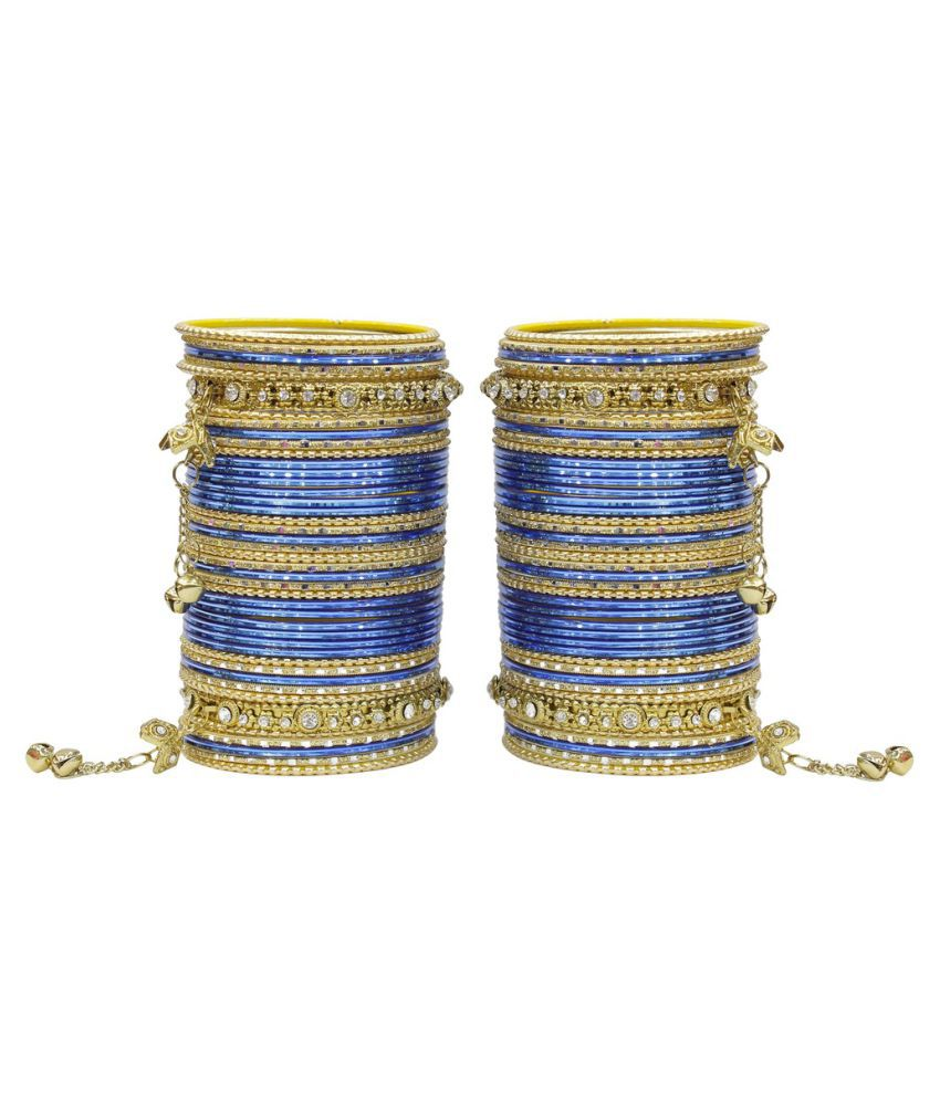 Much More Multicolour Bangle Set - Set of 2