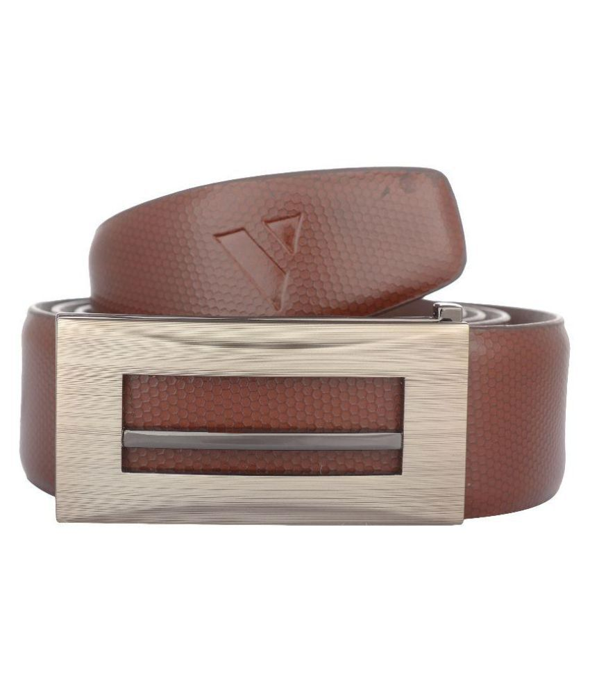 Vestire Brown Leather Formal Belts