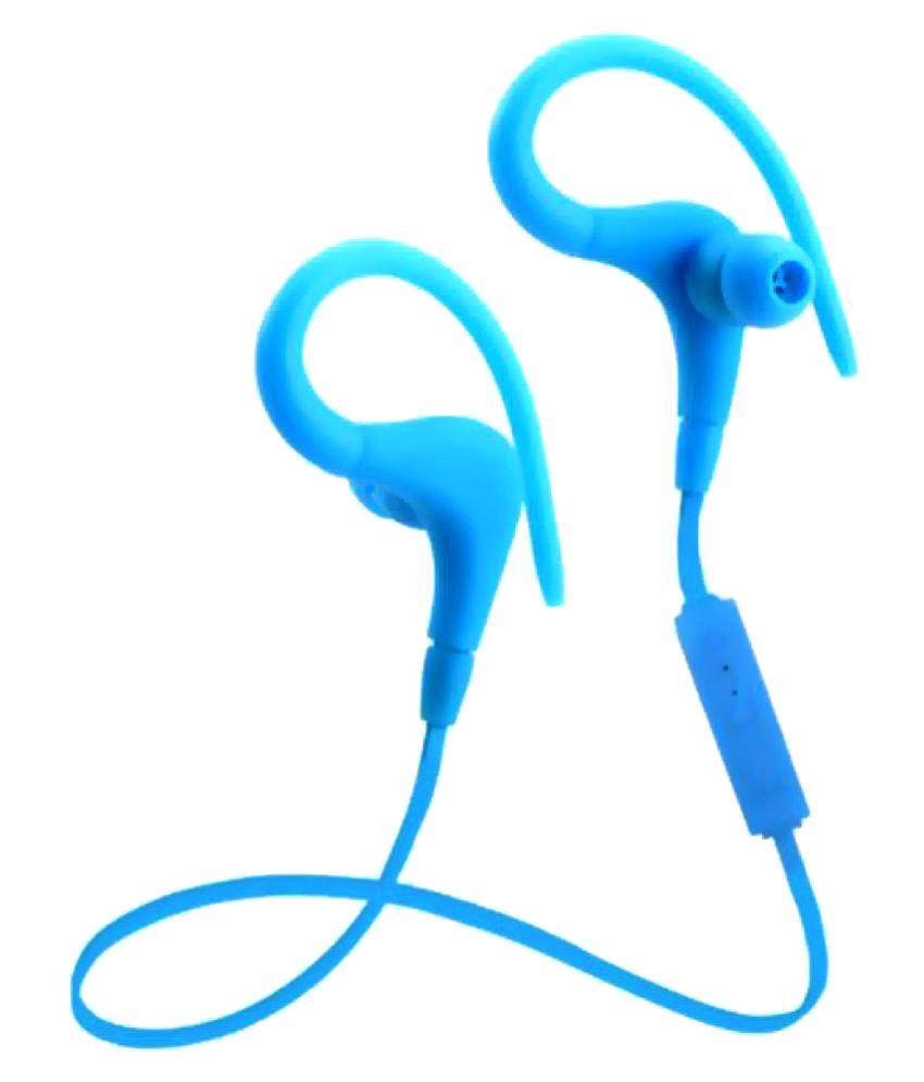 Anti Tank BT1 In Ear Wireless Earphones With Mic Blue