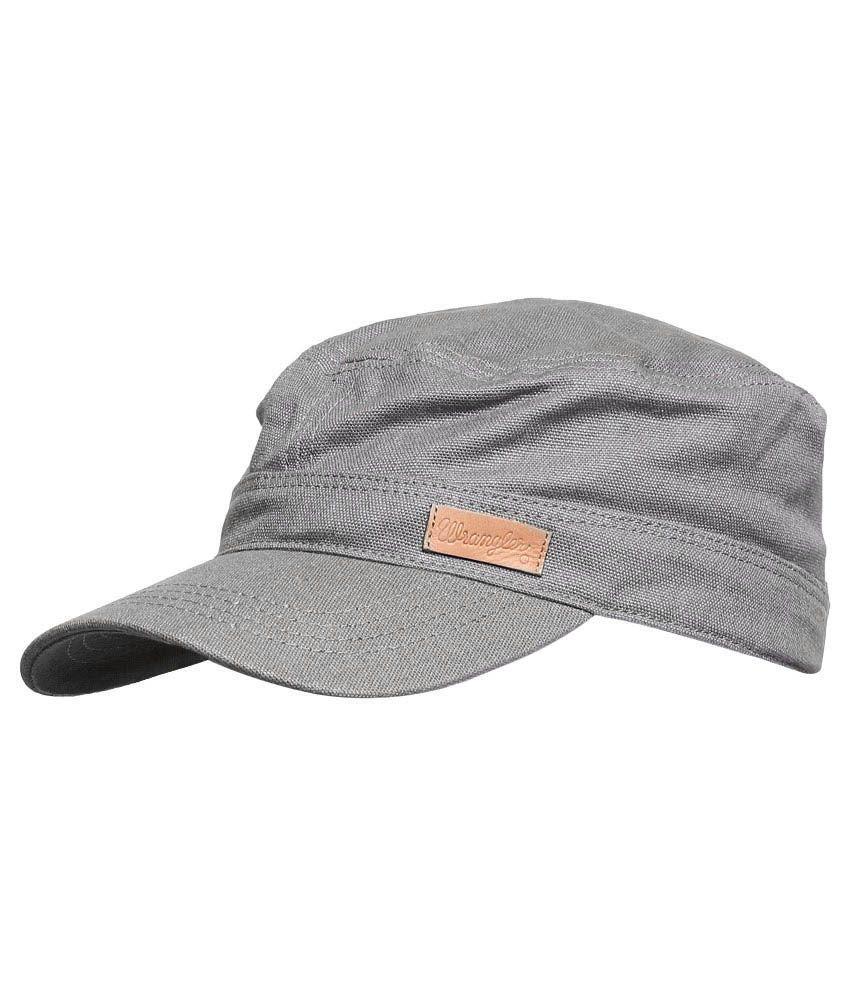 Wrangler WRAC0172 Gray Men Caps