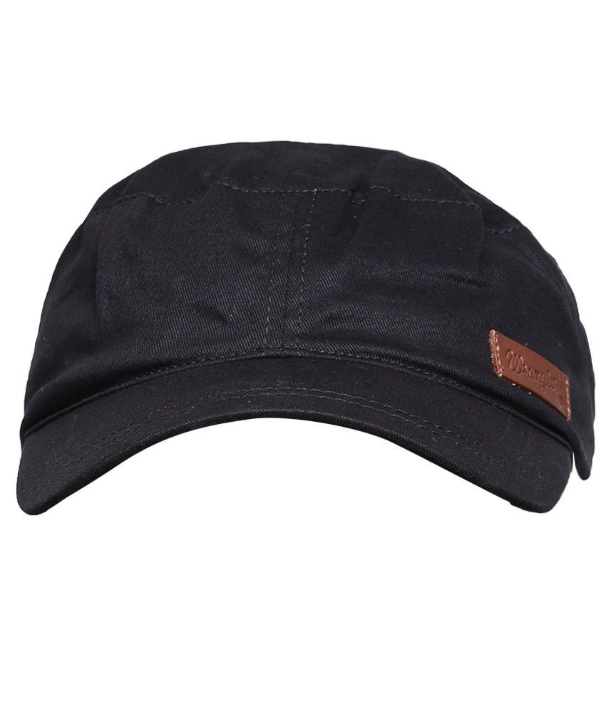 f66cee6ad04 Wrangler WRAC0187 Black Men Caps Wrangler WRAC0187 Black Men Caps ...