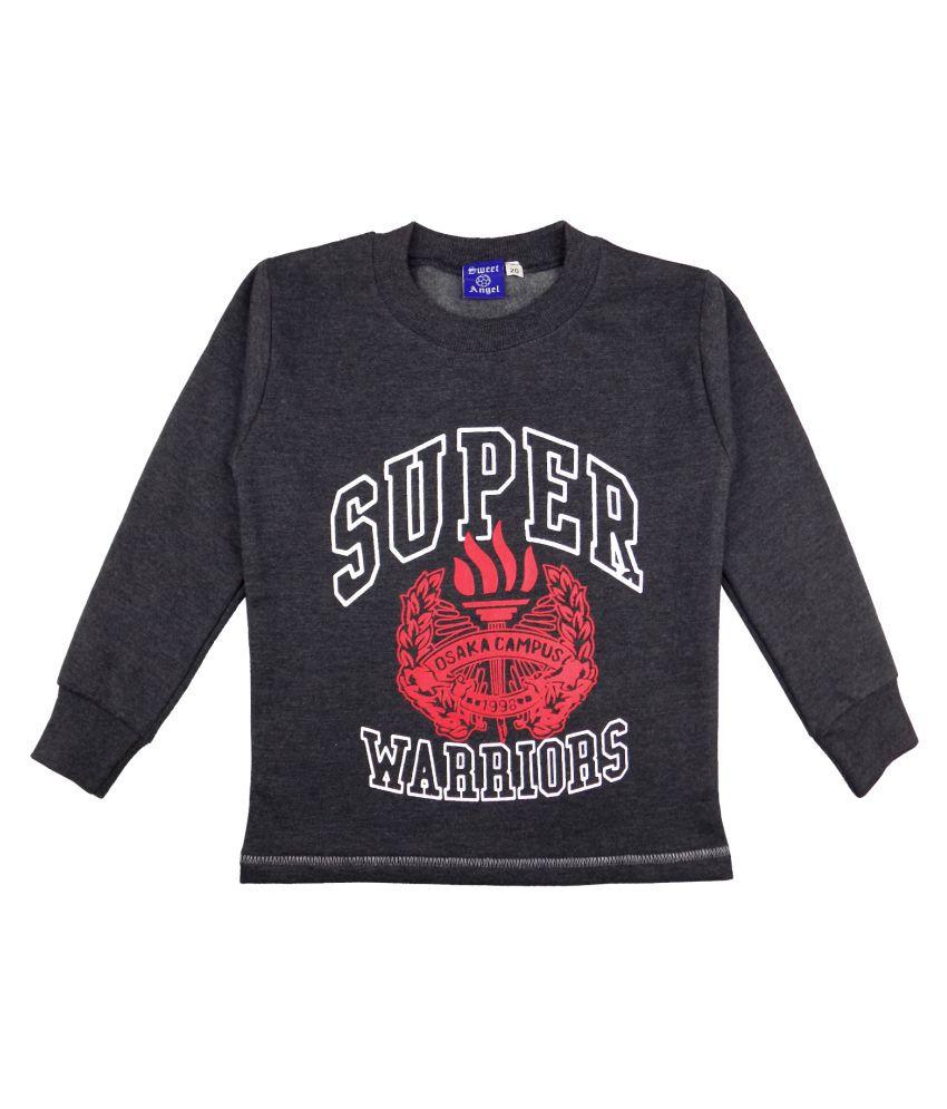 Sweet Angel Black Sweatshirts