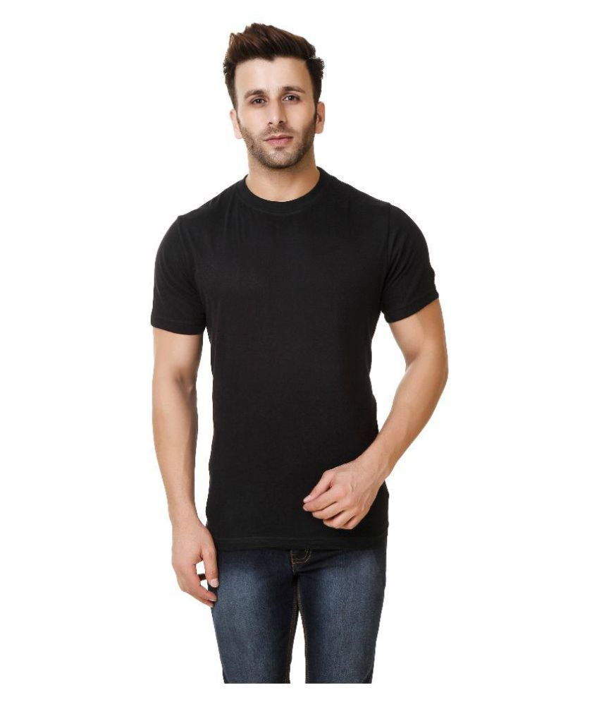 Austin-M Black Round T-Shirt Pack of 3