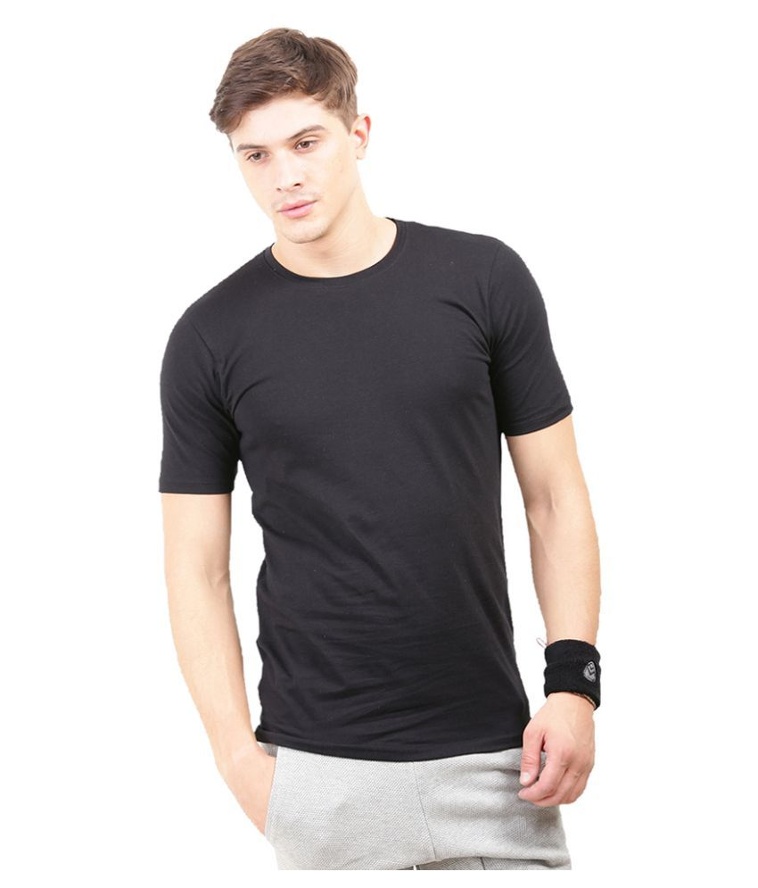 Thisrupt Black Round T-Shirt