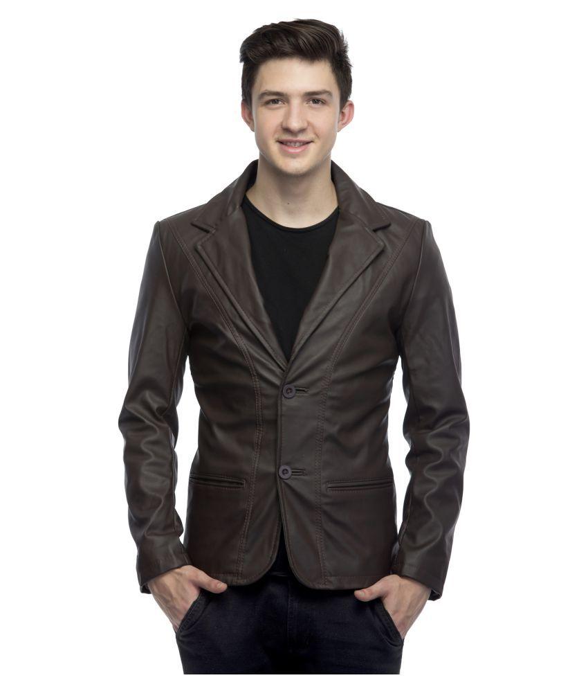 Emblazon Brown Casual Jacket - Buy Emblazon Brown Casual Jacket ...