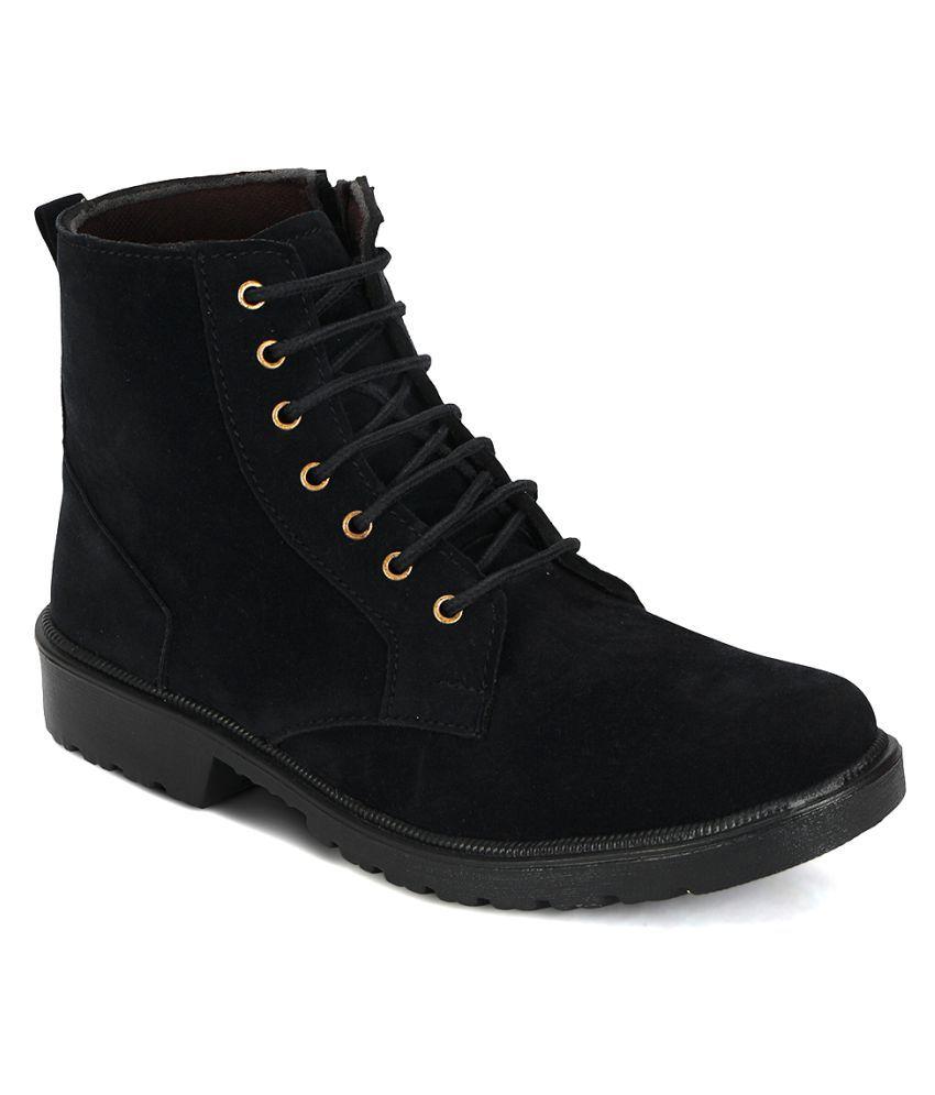Kielz Black Casual Boot