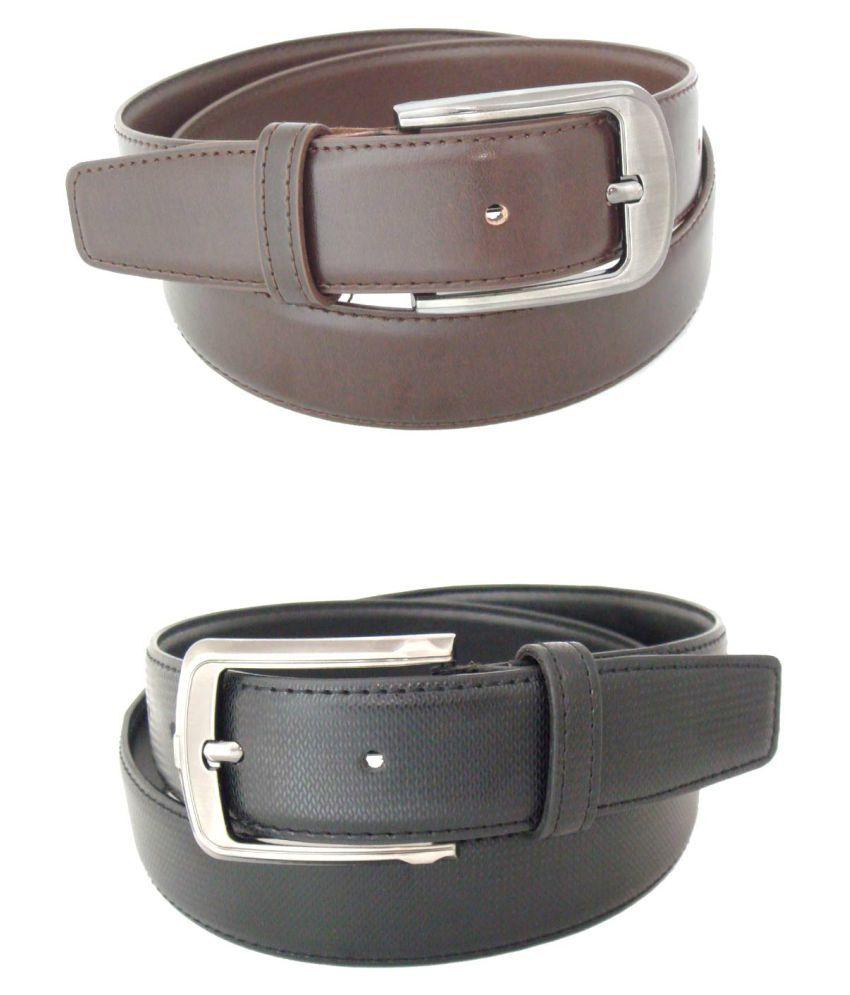 SFA Multi PU Formal Belts - Pack of 2