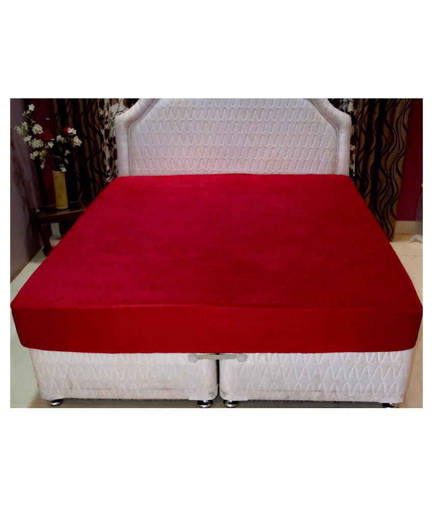 trance waterproof fitted mattress protector red cotton mattress