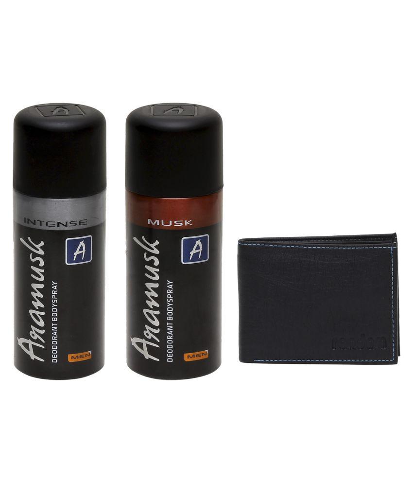 d7432bb4445 Aramusk Deodorant Spray Combo (Intense