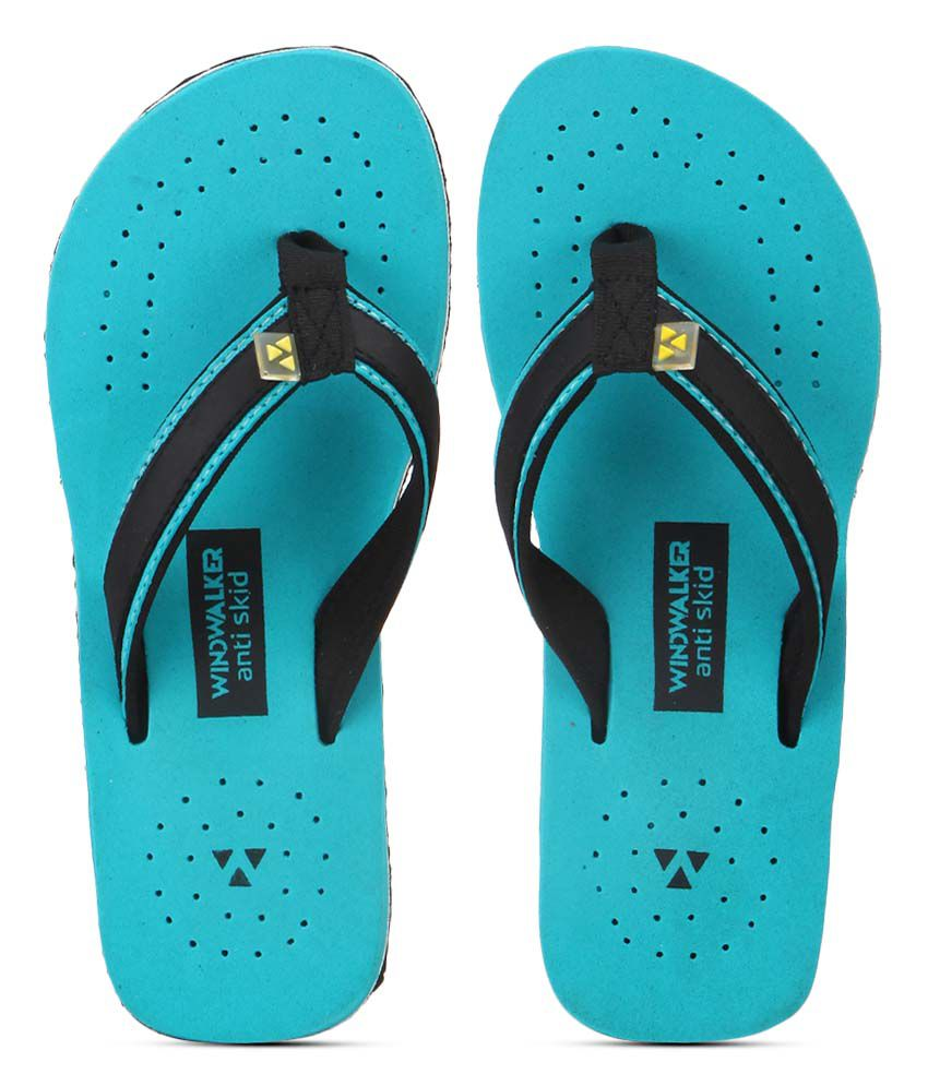 Windwalker Sirena Blue Flip Flops